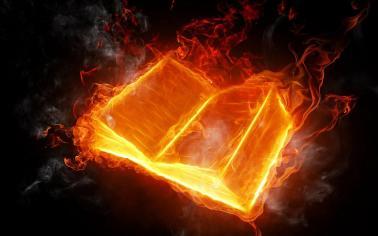 fiery bible