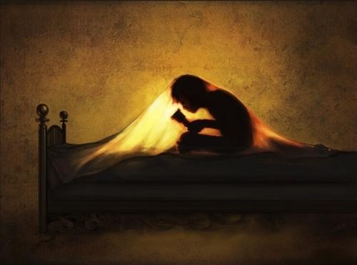 flashlight reading